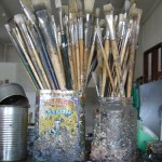 Adriane Strampp paint brushes