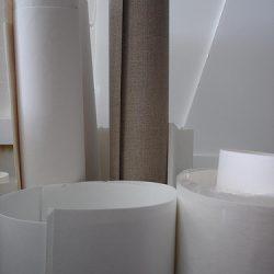 Adriane Strampp's Studio: Paper And Linen