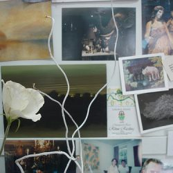 Adriane Strampp's Studio: Pin Board With Flower