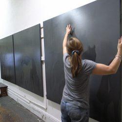 Adriane Strampp In Her Fitzroy Studio