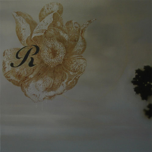 Adriane Strampp, Renaissance, 2007, oil on canvas, 92x92cm