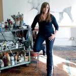 Adriane Strampp Hare drawing, Melbourne Art - The Australian Way June 2011