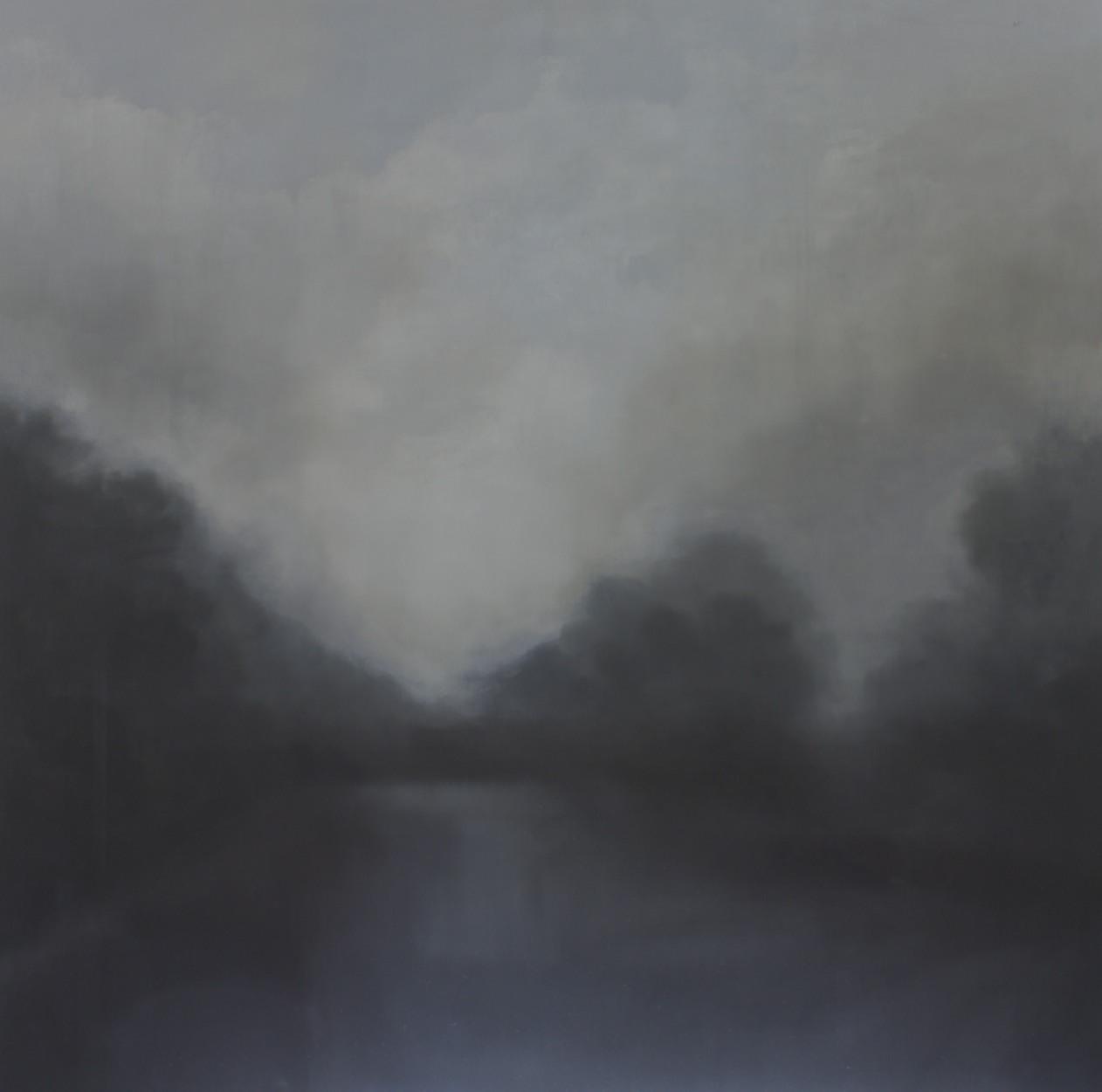 Simmer 2013 oil on linen 152 x 152 cm