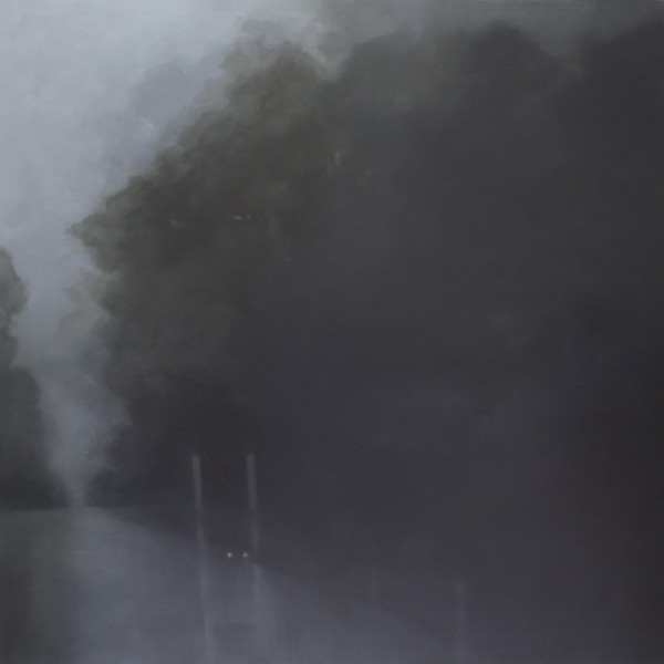Unease 2014, 152 x 152 cm oil on linen