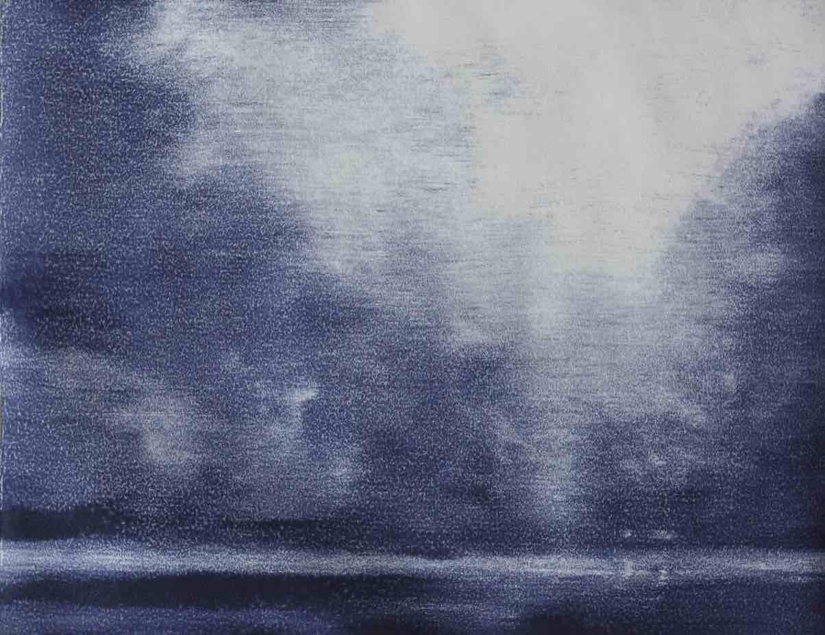 Adriane Strampp, MT1602 2016 monotype 22 x 28 cm