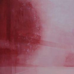 Adriane Strampp, Dissolve, 2017, Oil On Linen, 91 X 91 Cm